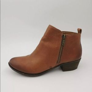 LUCKY BRAND Boots BASEL Brown Leather 9